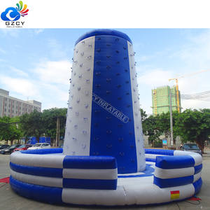 Outdoor Commercial Climbing Sports Inflatable Game Active Climbing Wall