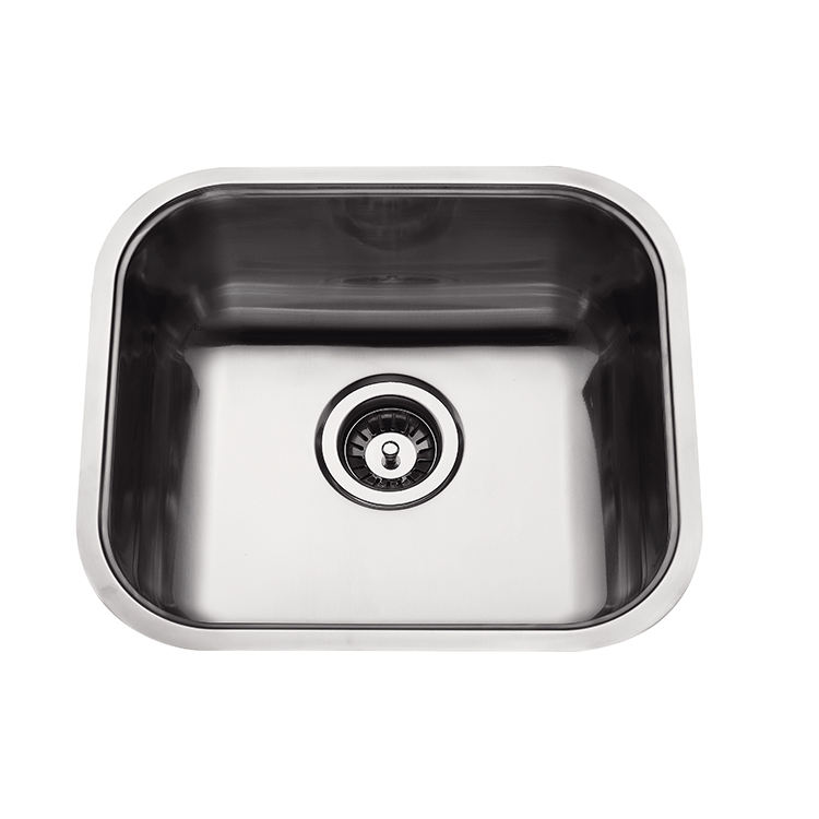 Made In China Small Kitchen Stainless Steel Plate Faucet For Kitchen Sink Bowl Stainless Steel Pressed Sink