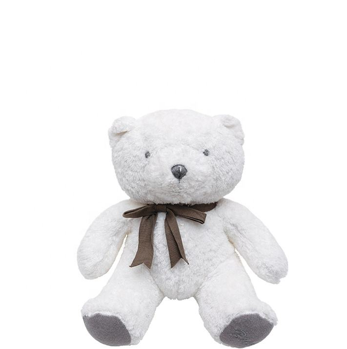 Skin-friendly organic cotton soft stuffed animal design teddy bear toy