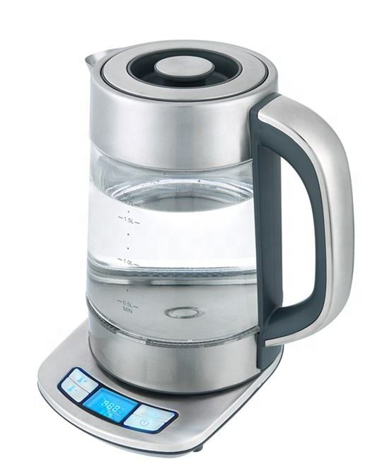 LED Digital glass water kettle variable temperature control electric kettle