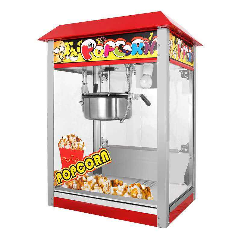CE approved SS commercial popcorn machine price