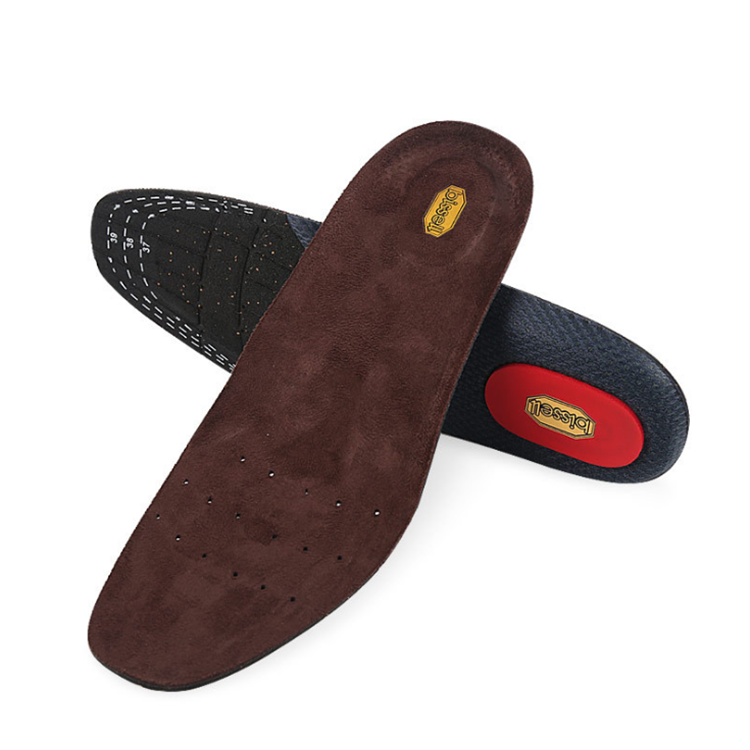 Rubber velvet Insole Custom Unisex Foot Massage Insoles Heel Insole Foot Care for Women and Men
