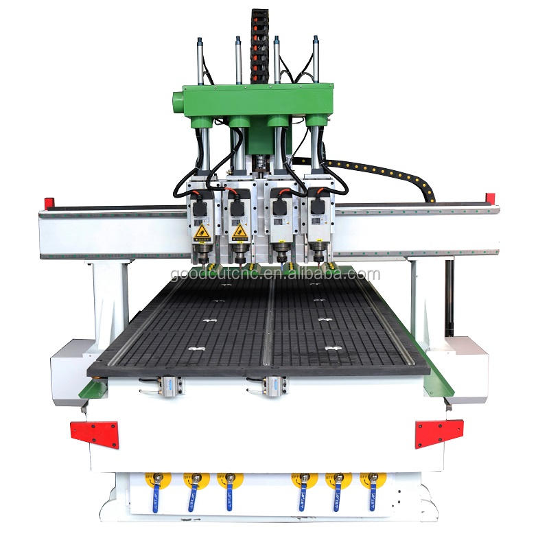 Made in China multi-head cnc router machine for wood model ship kit or dool
