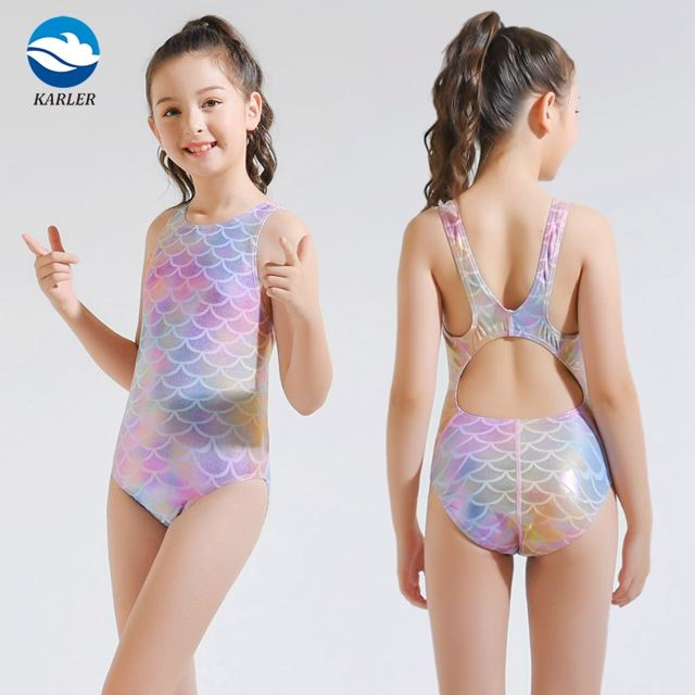Children Swimsuit One Piece Baby Bathing Suits Teen Toddler Models Child Swimwear Kids
