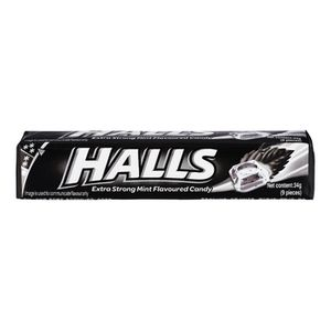 Halls Extra Strong Menthol Action candy 33.5g