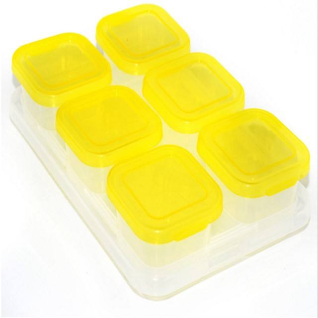 BPA Free Economic and Reusable Leakproof Plastic Storage Box Sets Inside Eco Friendly Material Professional Supplier for Amazon