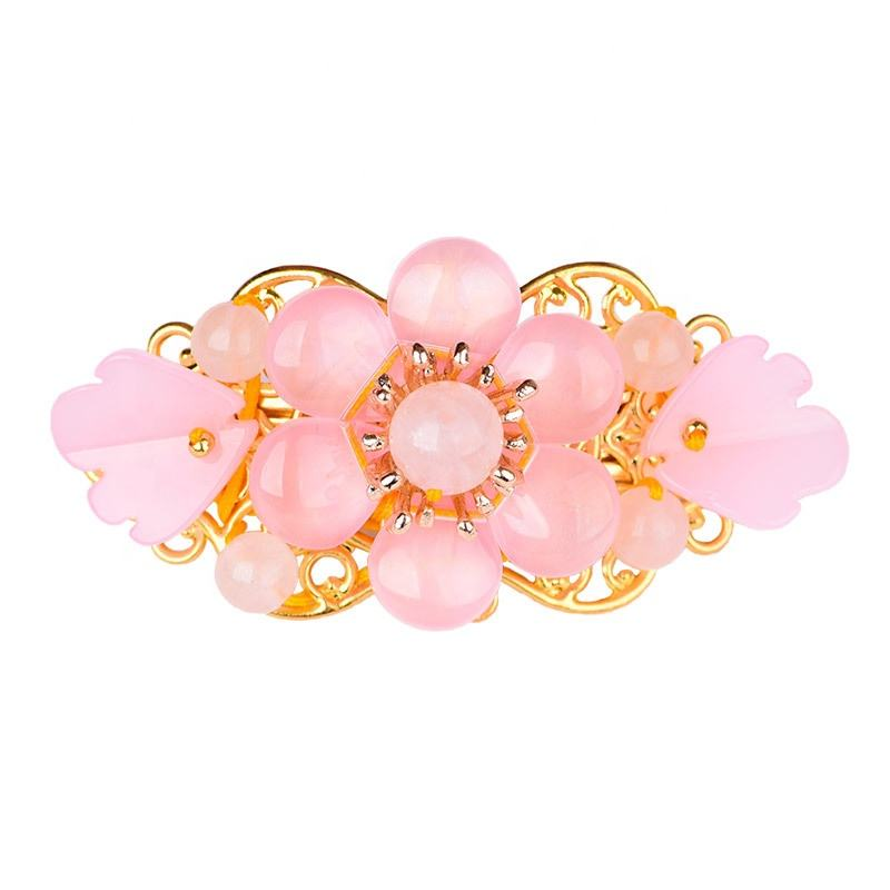 Classical spring clip retro top clip accessories ethnic style hairpin jewelry for girls