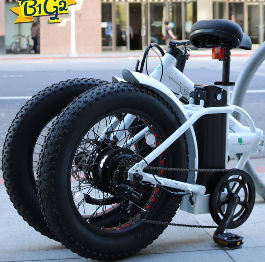 New Coming Small Wheel 500w Electric Bike Folding Fat Tire e bike Bicycle with CE