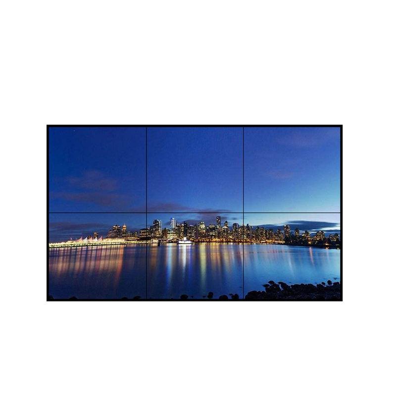4k seamless wall mounted network player display menu digital signage 2x2 <span class=keywords><strong>lcd</strong></span> did video wall