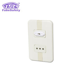 E056 All Types Of Baby Outlet Safety Covers, amazon hot sale	Baby safety Outlet Covers&Electrical Outlet EU Plug Cover
