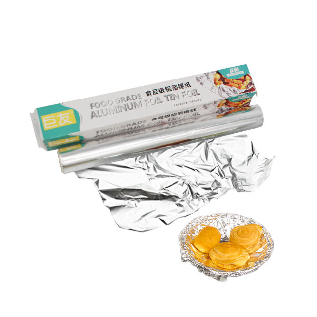 heat resistant wrap Kitchen cooking Tin foil aluminium foil factories roll of tin