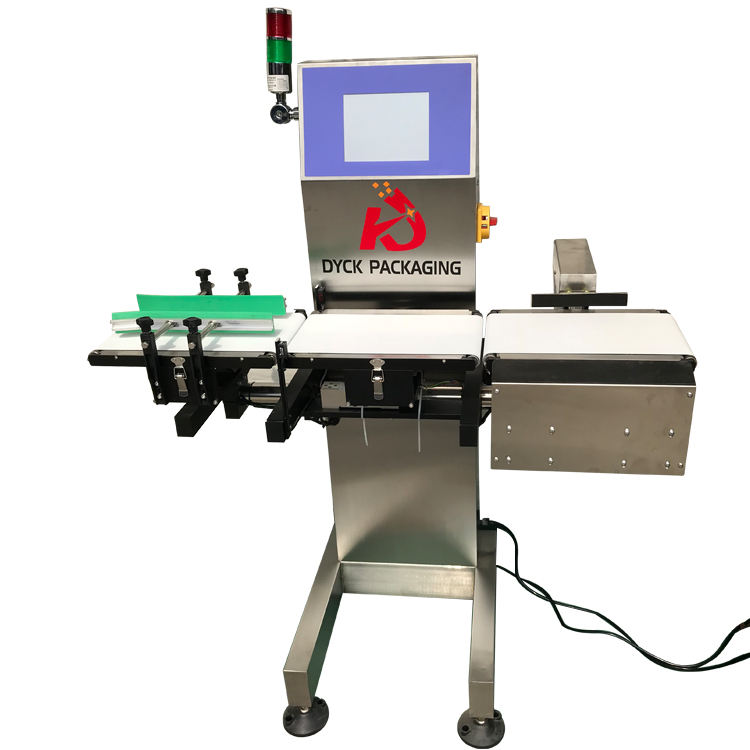 High Accuracy Automatic Weight Checker Belt Weighing Scale Check Weigher/Conveyor Weighing Machine/Online Check Weigher