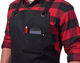 Durable Heavy Duty Cross Back Apron Waxed Canvas Tool Apron With Pocket