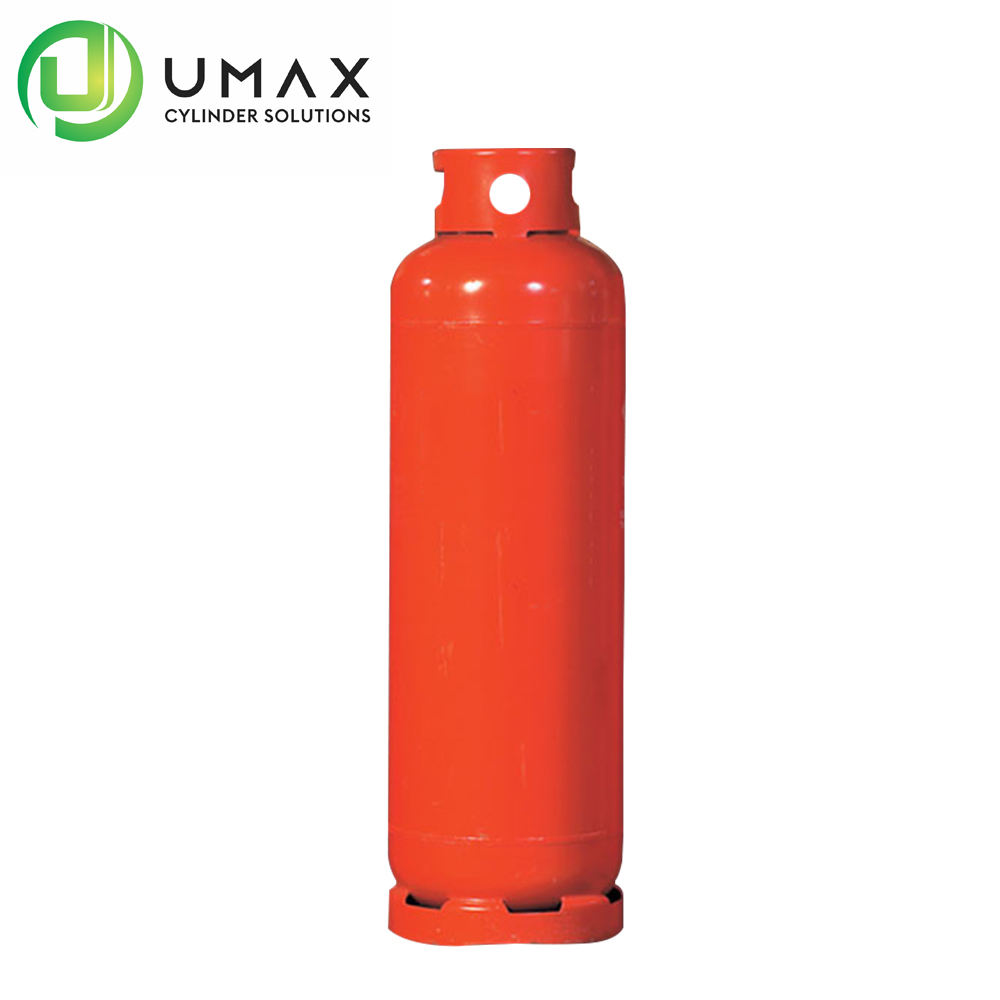 DOT CE ISO4706 50kg 118L empty restaurant industrial kitchen lpg/propane/butane gas cylinder/tank/bottle Factory price Umax