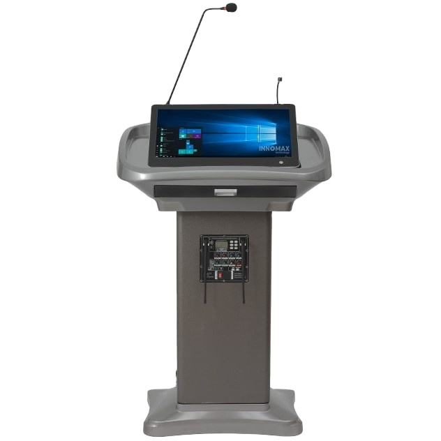 Digital Electronic Podium, Multi-media Amplifier Lectern, Educational Equipment