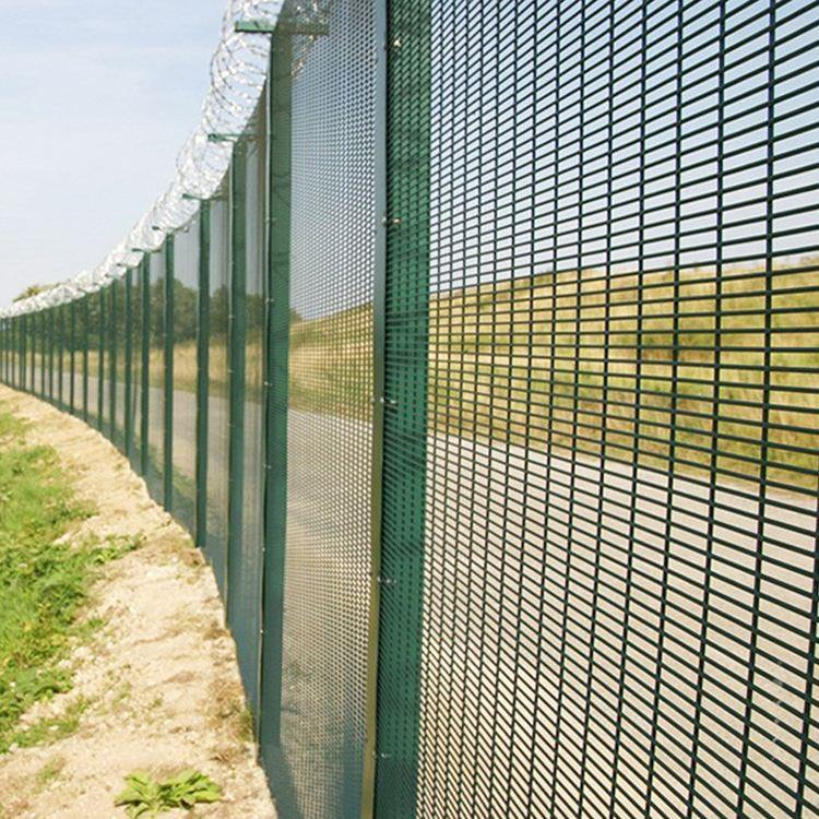 Hot Sale High Security Anti Cut Hot Dip Galvanized Steel 358 Defense Fence