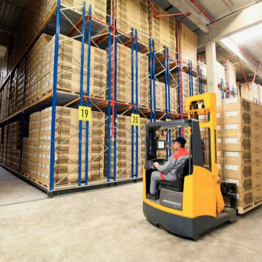 Electric pallet rack system For Automatic warehouse