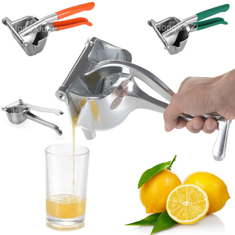 Stainless Steel Lemon Squeezer Manual Citrus Press Juicer Heavy Duty Extracting manual juicer Manual Citrus Juicer for home
