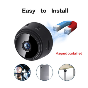 Full HD 720P/1080P battery powered camera Infrared Night Vision mini wifi spy camera Motion Detection wireless hidden camera