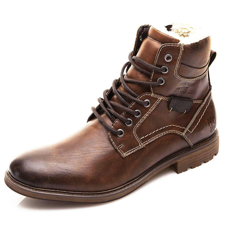 Hommes Chevalier Bottines Fourrure Doublure <span class=keywords><strong>Chukka</strong></span> <span class=keywords><strong>Bottes</strong></span> Chelsea Habillées Haut Haut Casual Chaussures