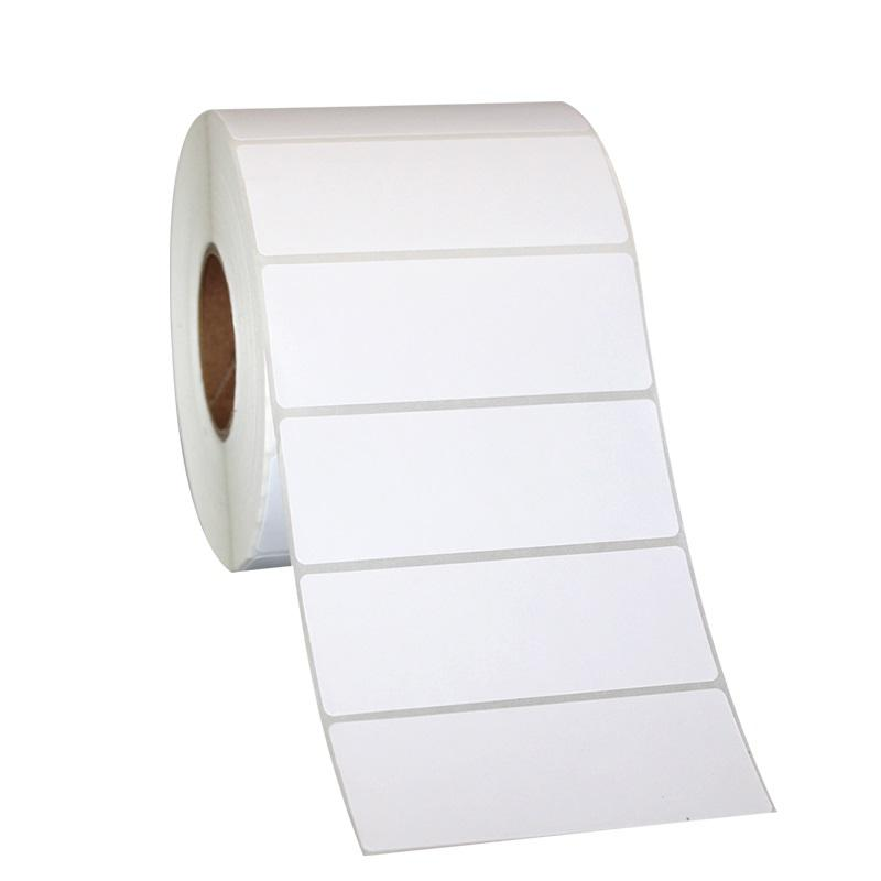 label sticker manufacturers customized sticker roll blank white sticker adhesive paper