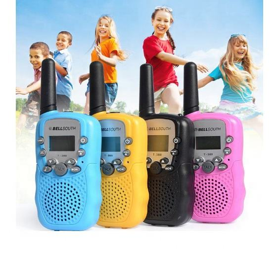 Handheld Mini Walkie Talkies for Kids 22 Channels FRS/GMRS Uhf Two Way Radios
