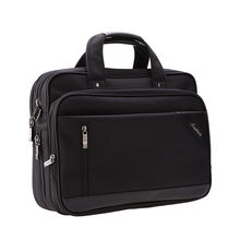 19SG-8390D Top Zip Business Case Ballistic Computer Brief trimmed with PU with multi compartments