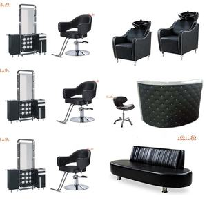 Wholesale price second hand hairdresser barber chair salon furniture set