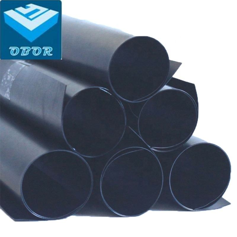 HDPE black geomembrane for fish farming pool lake dam pond liners wholesale price
