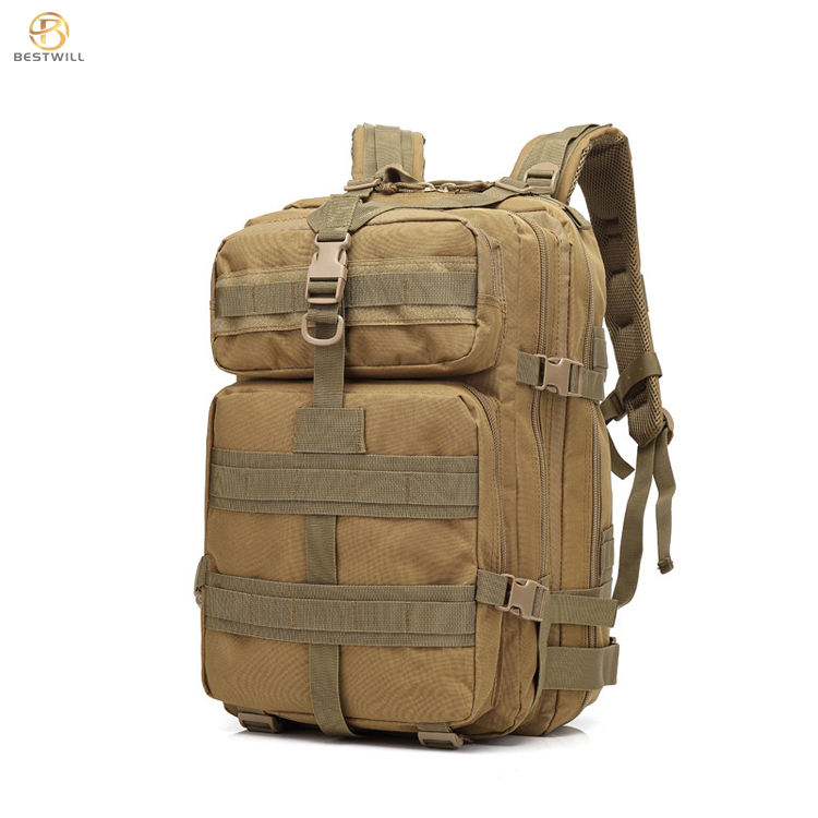 2020 Bestwill 45L Camouflage Oxford Molle Hiking Outdoor Military Rucksacks Custom Tactical Backpack