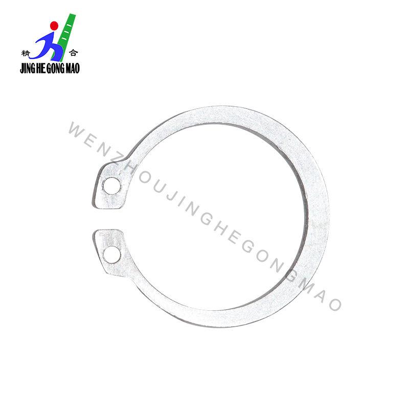 M6 DIN 471 External Retaining Rings Stainless Spring Steel 100 pcs