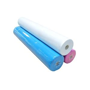 Perfect factory custom wholesale comfortable  breathable and environmentally friendly disposable bed sheet roll