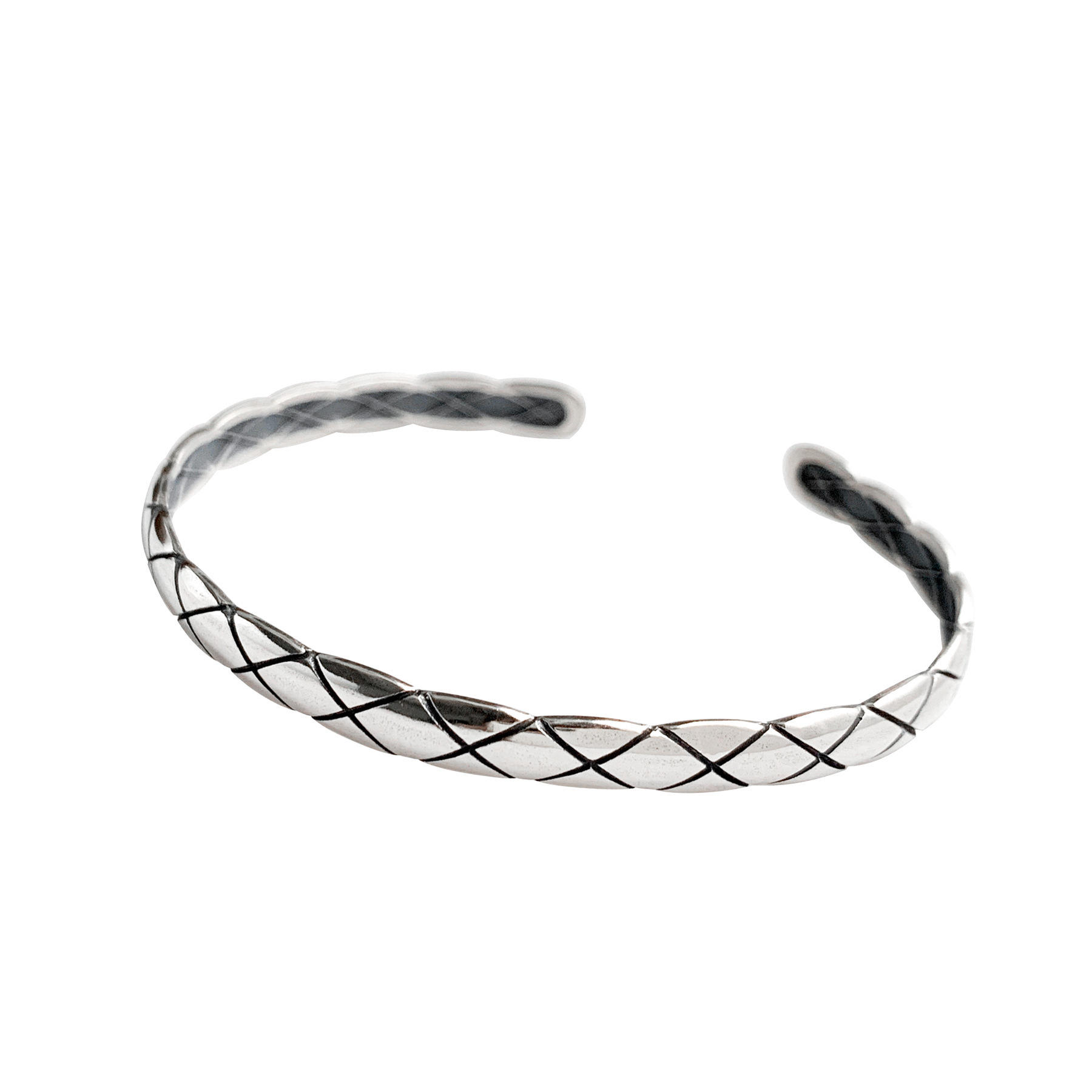 Cute chain diamond striped bracelet niche design, light luxury and cold wind bracelet