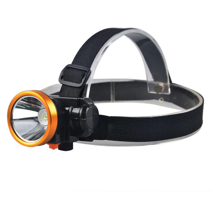 Best Selling Miner Detector Headlamp 3W LED Head Mounted Miner Lamp Flashlight Torch