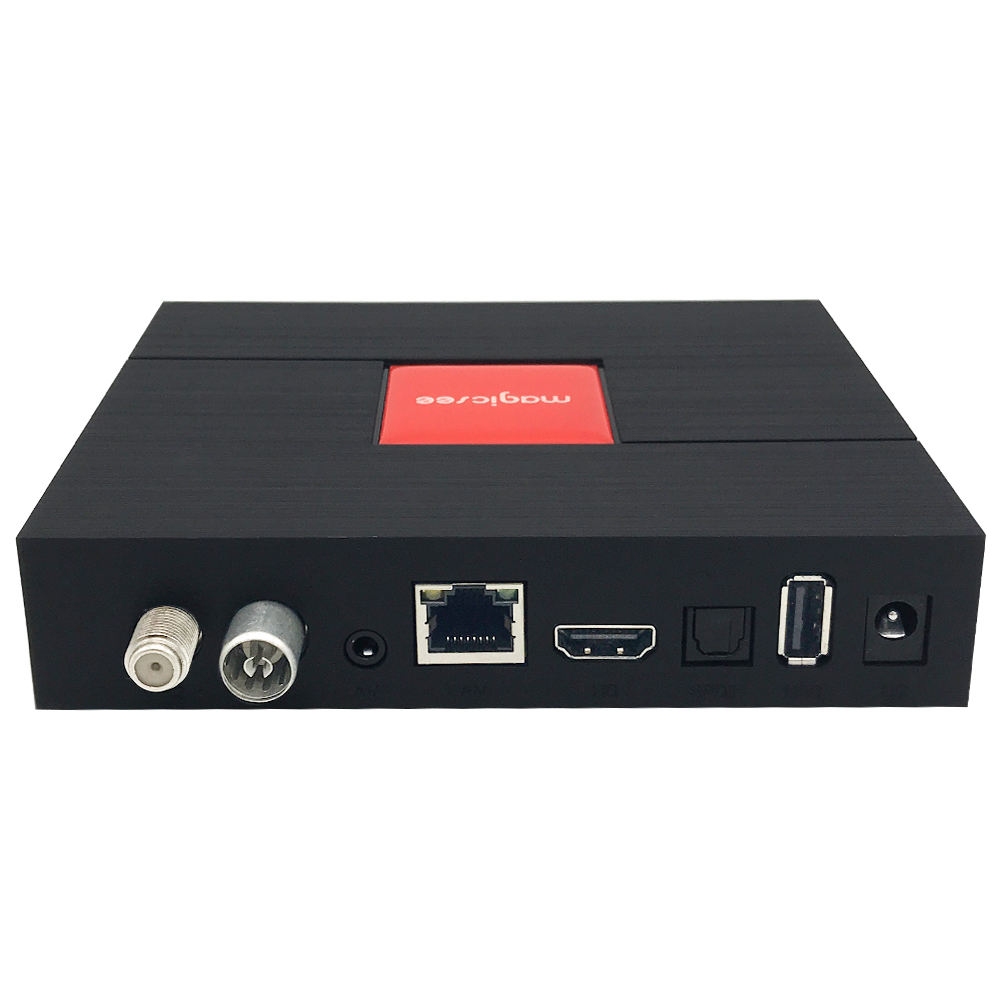 Magicsee C400 Plus Android Tv Box Digitale Satellietontvanger Dvb S2 Dvb T2 Android 4 K Tv Box