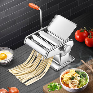 Chinese Home Use Household Domestic Portable Small Manual Hand Press Pasta Spaghetti Maker Noodle Making Machine
