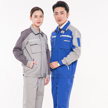 Newest style uniform comfortable material overalls work spring and autumn work clothes auto repair uniform factory price