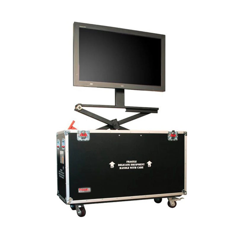 Mobile Auto Lifting TV Flight Case for 32''-85'' TV