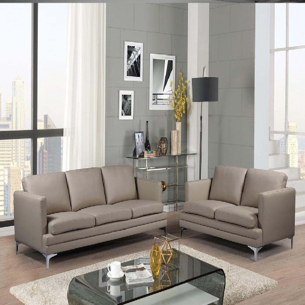 Factory wholesale sectional genuine leather sofa, modern European style washable living room sofa set