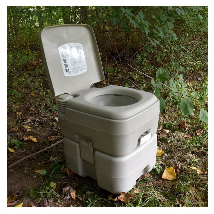 camping car portable mobile seat outdoor travel toilet