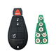 Keyless Go 4 Buttons 433 Mhz ID46 Chip Remote Car Key For Chrysler Jeep Grand Cherokee 2008 - 2015 Auto Key