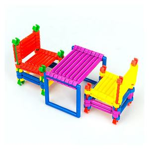 High Standard Educational Smart Blocks Construction Toy Building Blocks Stick Model Set