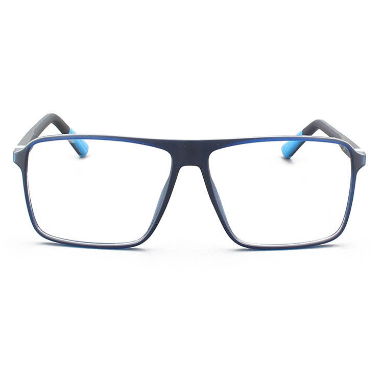 China Wholesale Anti Blue Light Blocking TR90 Optical Frame Safety Eyewear Glasses Fashion Eyeglasses For Male