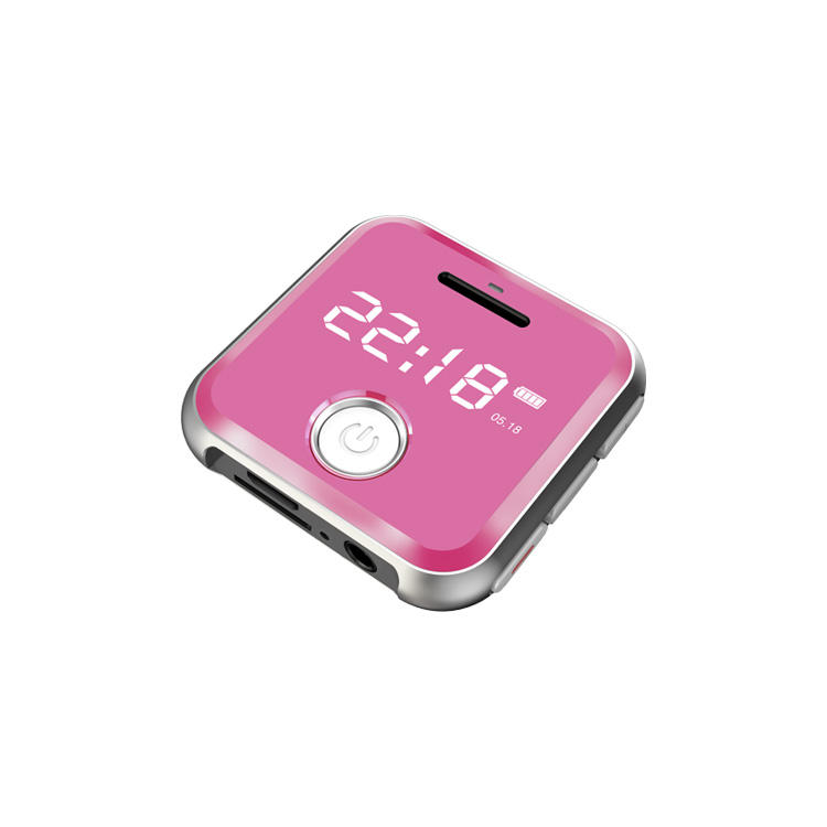portable mp3 radio with expandable memory card cheap small radio mp3 player for running