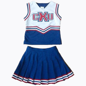 Nuovo cheerleading uniformi per cheerleaders con 100% poliestere pesante