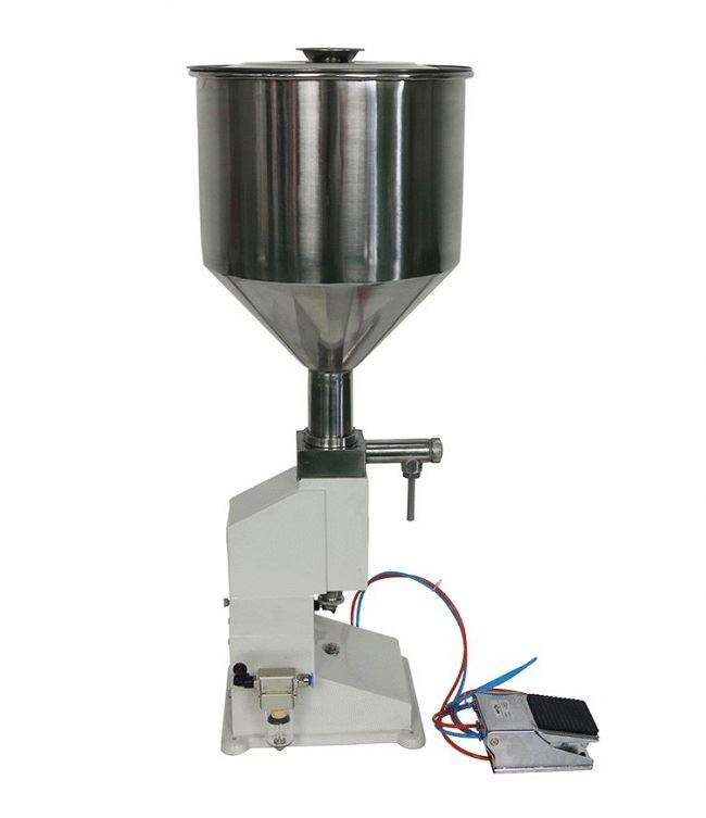 Easy to operate manual liquid/lotion/cream filling machine hand cream filling machine