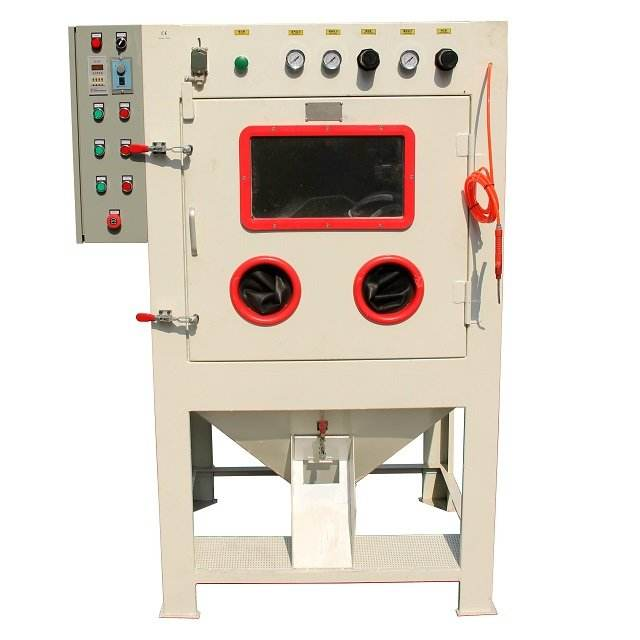 auto small carbide nozzle sand blasting machine