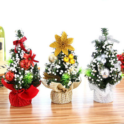 20CM Christmas tree mini table top a children's gift wedding centerpieces