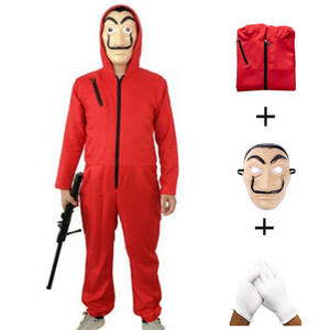 Money Heist The House of Paper Cosplay Costume for Men Women Salvador Dali Halloween Carnival Costume suit