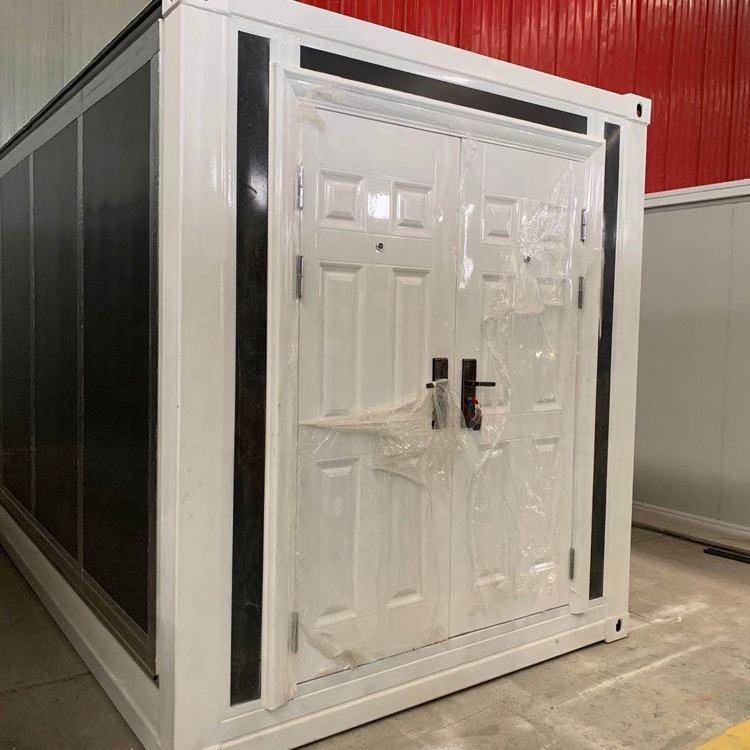 Portátil envío oficina pequeña casa contenedores para venta